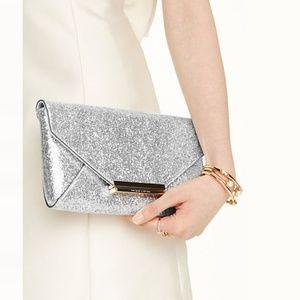 Kate Spade || Wedding Belles Charla Glitter Clutch
